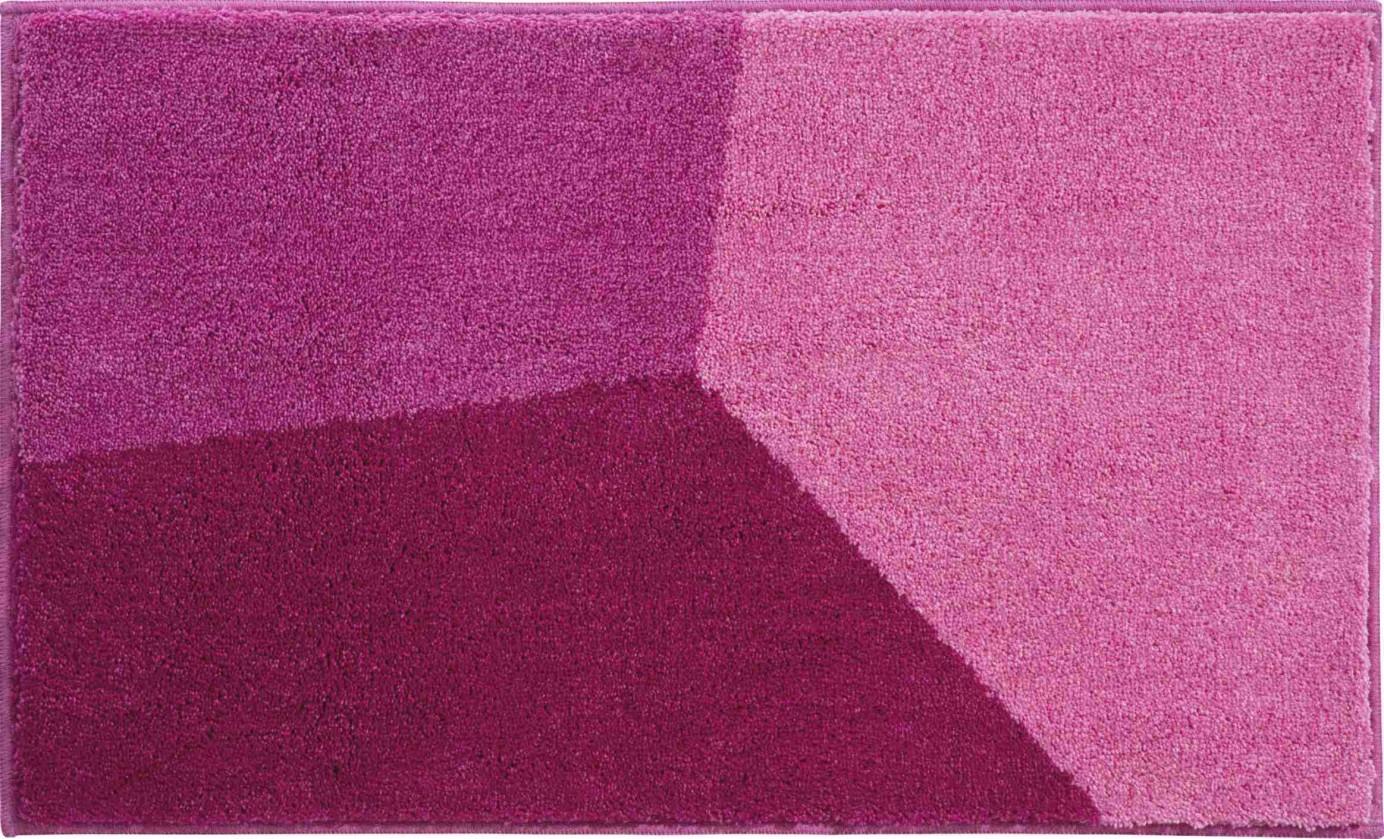 Shi - Kúpeľňová predložka 70x120 cm (růžová)