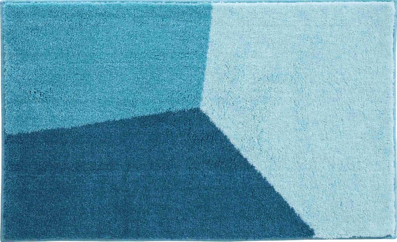 Shi - Kúpeľňová predložka 70x120 cm (tyrkysová)