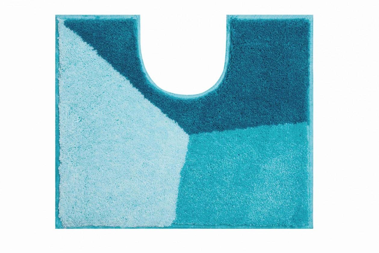 Shi - WC predložka 50x60 cm (ľadovo modrá-petrolejová)