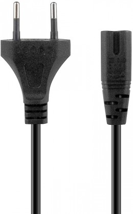 Sieťové káble WYRE Power Cable - for PS3/PS2, black