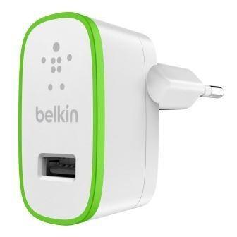 Sieťové nabíjačky (230V) BELKIN USB 230V nabíječka, 1xUSB ,2.1A bílá (F8J052cwWHT)