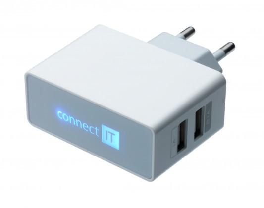 Sieťové nabíjačky (230V) Nabíjačka CONNECT IT SKITCI151