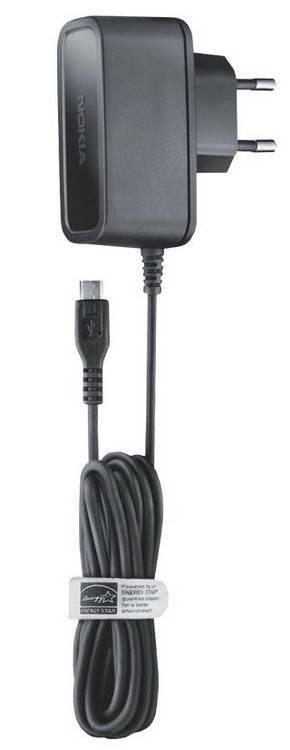 Sieťové nabíjačky (230V) Nokia sieťová nabíjačka microUSB AC-10E