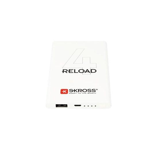 Sieťové nabíjačky (230V) Powerbank SKROSS Reload 4, 4000mAh, microUSB