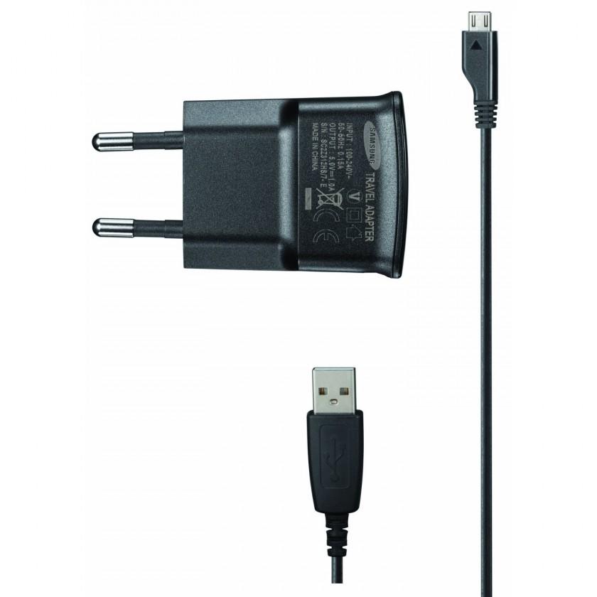 Sieťové nabíjačky (230V) Samsung ETA0U80 sieťová nabíjačka micro