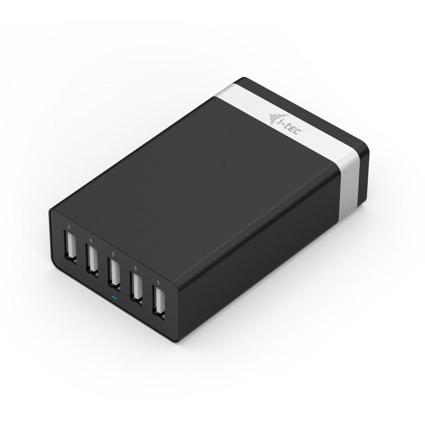 Sieťové nabíjačky (230V) SMART USB 5 PORT CHARGER 40W / 8A