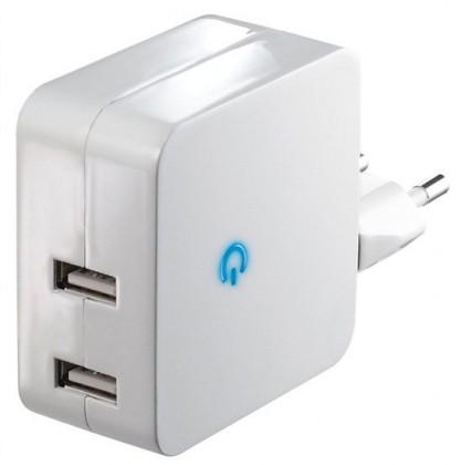 Sieťové nabíjačky (230V) Solight USB nabíjecí adaptér 2 x 2400mA