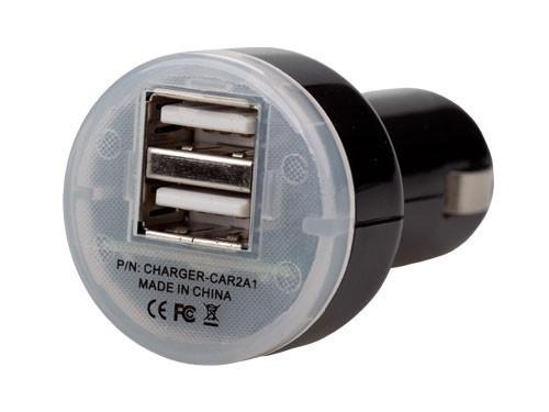 Sieťové nabíjačky (230V) USB High Power Car Charger 2.1A (iPAD ready)
