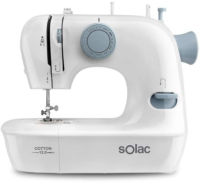 Šijací stroj Šijací stroj Solac Cotton 12.0 SW8220 POUŽITÉ, NEOPOTREBOVANÝ TOV