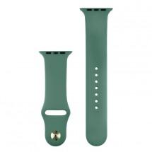 Silikónový športový remienok na Apple watch 42/44 mm, J zelený