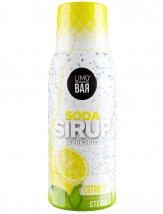 Sirup Limo Bar, Citron, stévia, 500ml