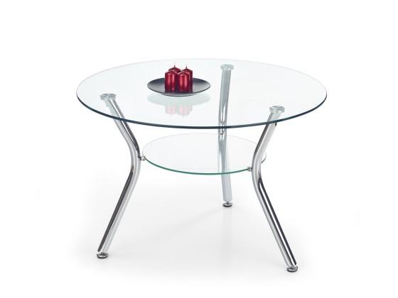 Sklenený Becky - Konferenčný stolík (bezfarebný)