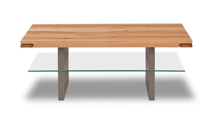 Sklenený Feel - Konferenčný stolík (divoký buk/cubanit)