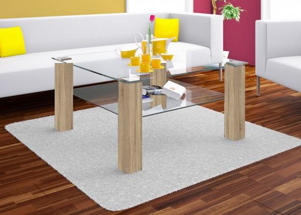 Sklenený Konferenčný stolík Isola