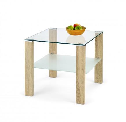 Sklenený Konferenčný stolík Simple H Kwadrat