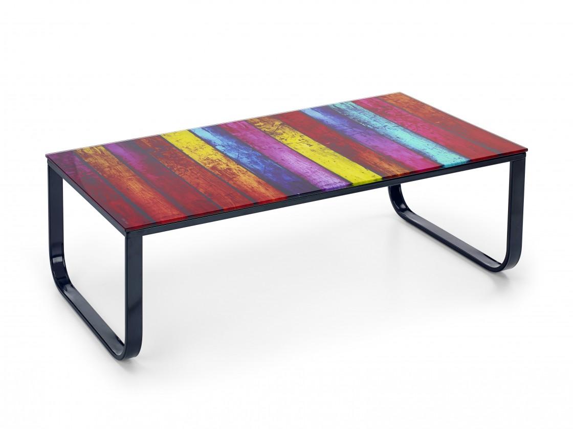 Sklenený Pandora - konferenčný stolík