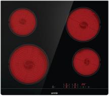 Sklokeramická varná doska Gorenje Essential CT41SC černá