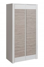 Skriňa Alvo - 2 dvierka (andersen white pine/andersen beige)
