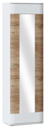 Skriňa Denver Typ 02 (biela arctic/dub san remo pieskový)