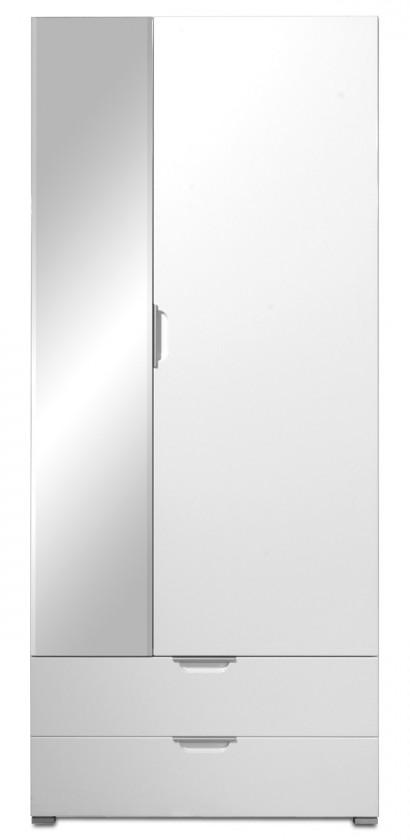Skriňa GW-Event - Skriňa so zrkadlom (biela)