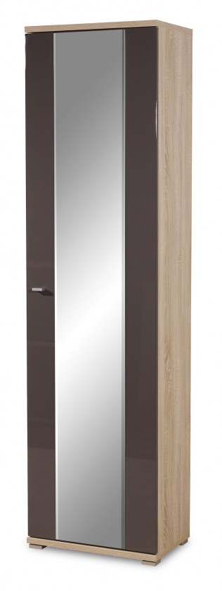 Skriňa GW-Life - skriňa so zrkadlom (dub sonoma/grafit)
