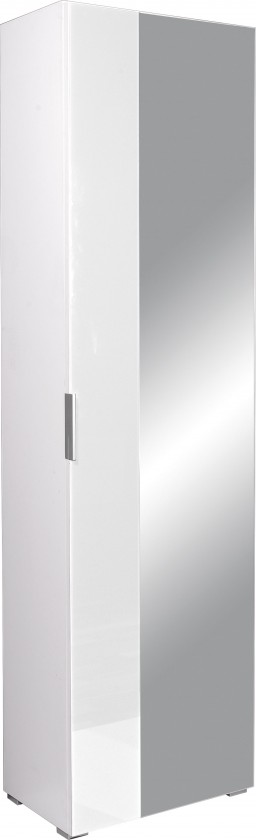Skriňa GW-Primera - skriňa, 1x dvere (biela)