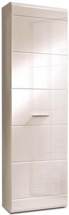 Skriňa Slate-STXS71-Q86(biela mat/biela lesk)