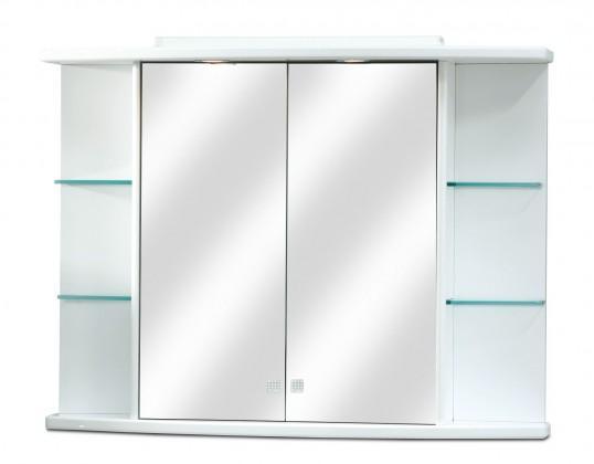 Skrinka nad umyvadlo Zrkadlová skrinka ZS 248 s halogénovým osvetlením (zrkadlo)