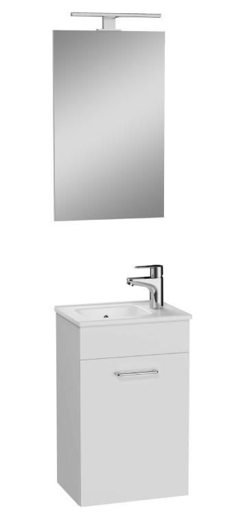Skrinky s umývadlom Kúpeľňová zostava Moira (39x61x28 cm, biela)