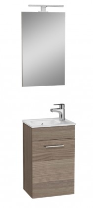 Skrinky s umývadlom Kúpeľňová zostava Moira (39x61x28 cm, cordoba)