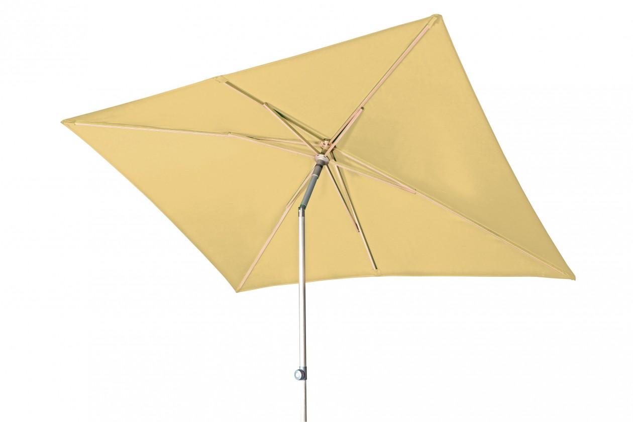 Slnečník Act - slnečník, 200x250 cm (žltá)
