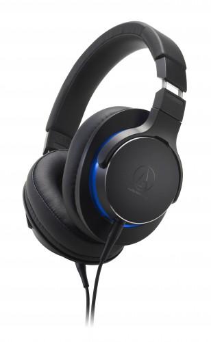 Slúchadlá cez hlavu Audio-Technica ATH-MSR7bBK, čierne