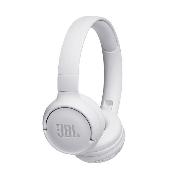 Slúchadlá cez hlavu Bezdrôtové slúchadlá JBL Tune 500BT, biele