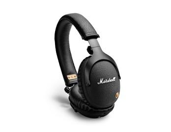Slúchadlá cez hlavu Bezdrôtové slúchadlá Marshall Monitor Bluetooth