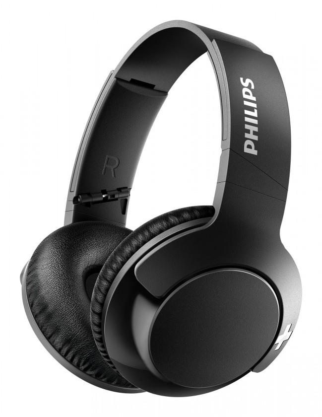 Slúchadlá cez hlavu Bezdrôtové slúchadlá Philips SHB3175BK, čierna