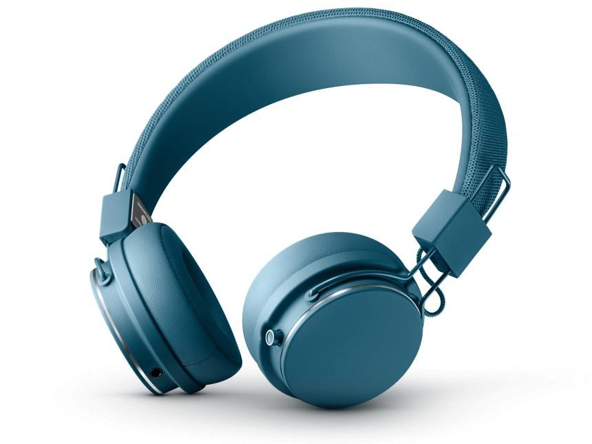 Slúchadlá cez hlavu Bezdrôtové slúchadlá Urbanears Plattan II BT, modré