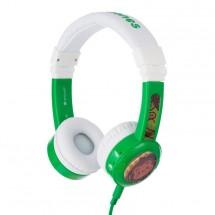Slúchadlá cez hlavu BuddyPhones Inflight, zelené