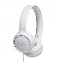 Slúchadlá cez hlavu JBL Tune 500, biele