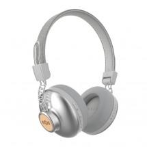 Slúchadlá cez hlavu MARLEY Positive Vibration  - Silver