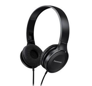 Slúchadlá cez hlavu Panasonic RP-HF100E-K, čierne