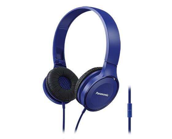 Slúchadlá cez hlavu Panasonic RP-HF100ME-A, modré