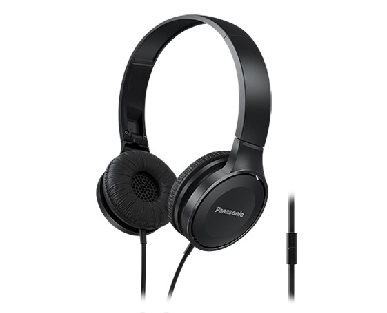 Slúchadlá cez hlavu Panasonic RP-HF100ME-K, čierne
