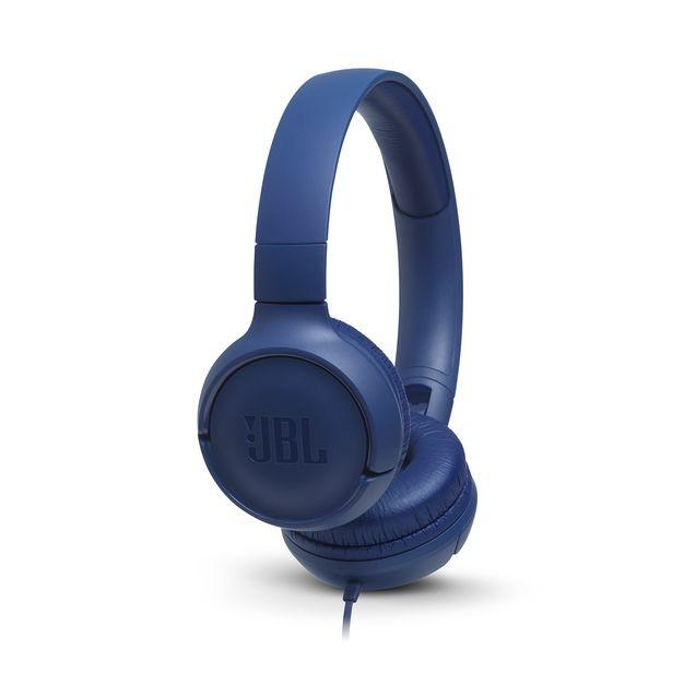 Slúchadlá cez hlavu Slúchadlá cez hlavu JBL Tune 500, modré