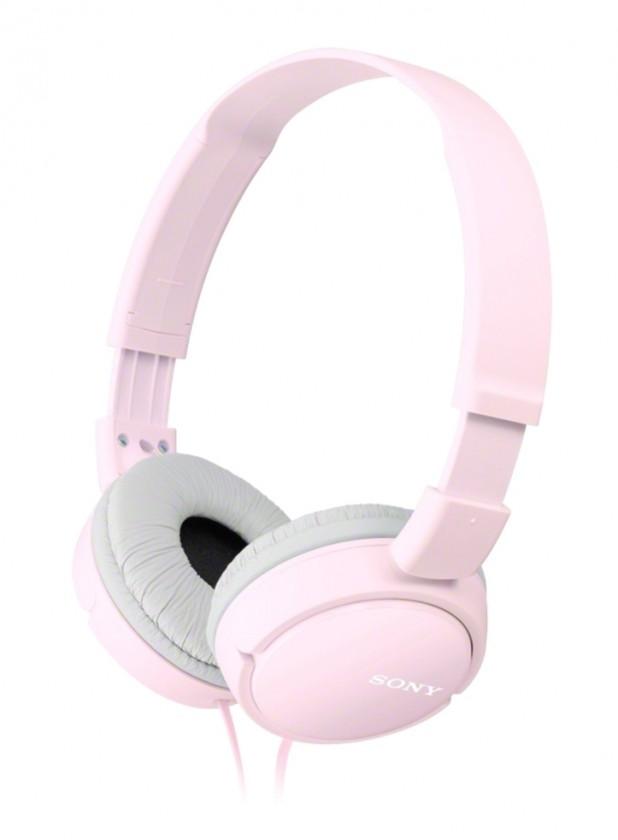Slúchadlá cez hlavu Slúchadlá cez hlavu Sony MDR-ZX110P, ružové