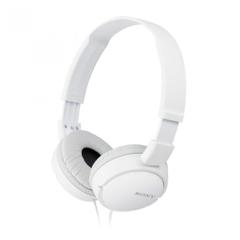 Slúchadlá cez hlavu Slúchadlá cez hlavu Sony MDR-ZX110W, biele