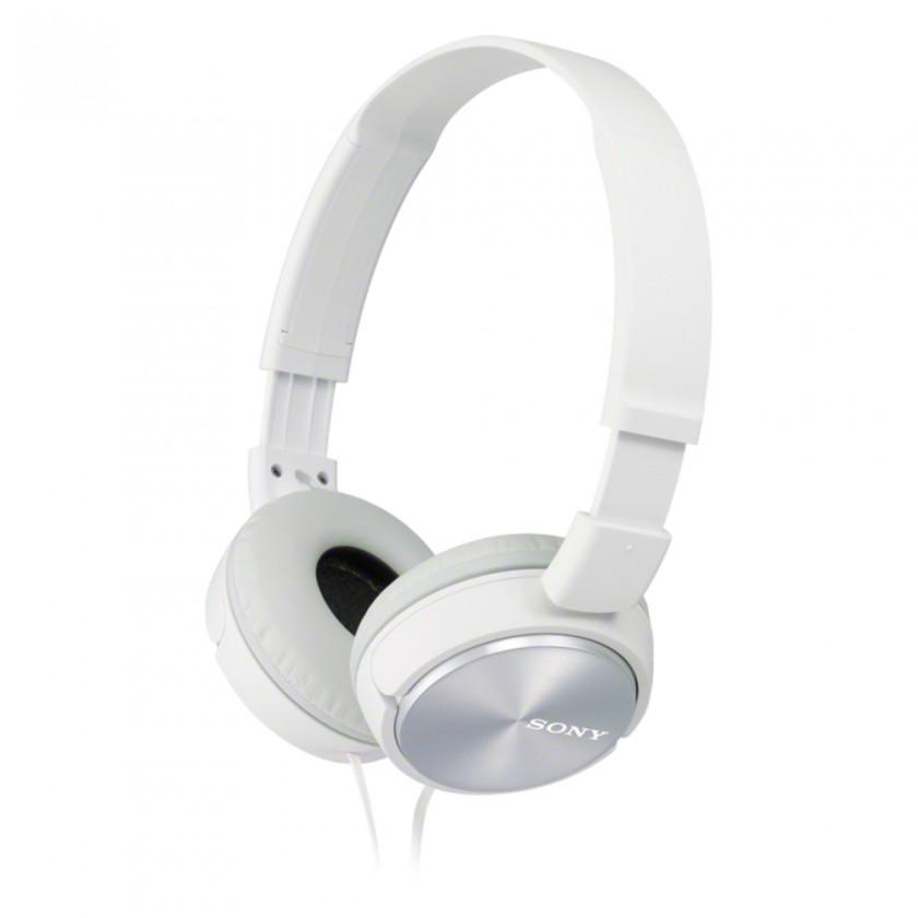 Slúchadlá cez hlavu Slúchadlá cez hlavu Sony MDR-ZX310APW, biele