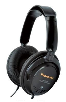 Slúchadlá cez hlavu Slúchadla k TV Panasonic RP-HTF295E-K, čierne