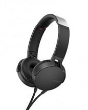 Slúchadlá cez hlavu Sony MDR-XB550APB, čierne