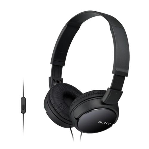 Slúchadlá cez hlavu Sony MDR-ZX110APB, čierne