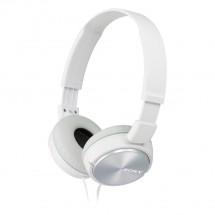 Slúchadlá cez hlavu Sony MDR-ZX310APW, biele